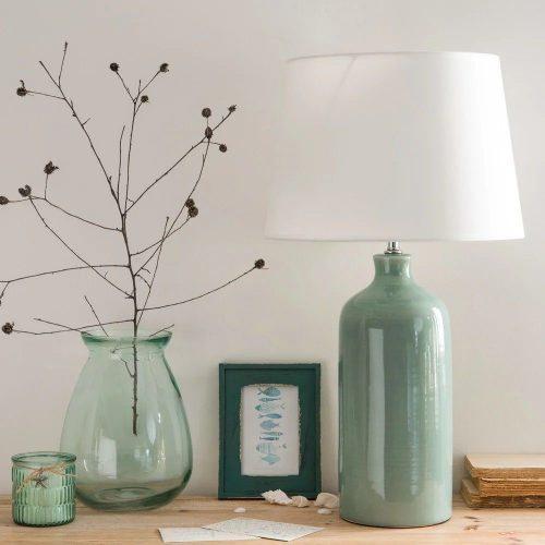 decorar casa con accesorios en verde