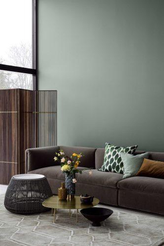 decorar con verde el salon
